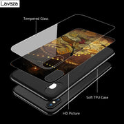 Lavaza The Promised Neverland Tempered Glass TPU Case For IPhone XS MAX XR X 8 7 6 6S Plus
