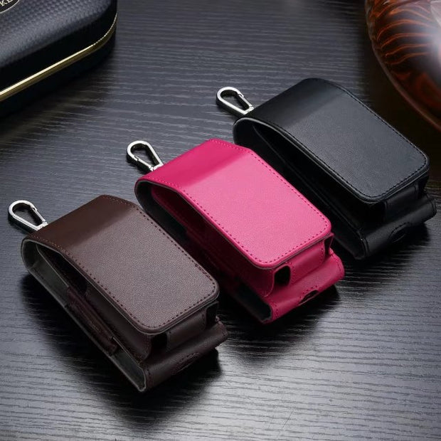 Leather Case Box Holder Storage Pouch Bag For IQOS PU Leather Carrying Full  Protective Case For IQOS Electronic Cigarettes