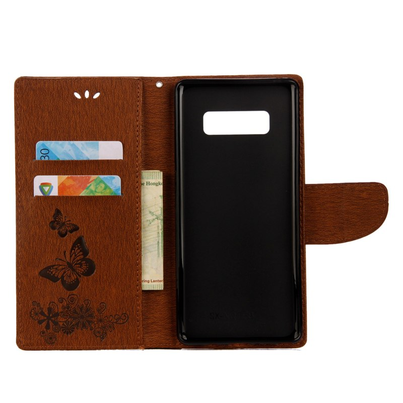 Leather Cover For Samsung Galaxy Note 8 Note8 Flip Wallet Case SM N950F N950F/DS N950W N950X N950U N950N Card Slot Phone Bag