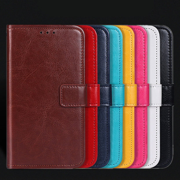 Luxury Wallet Case For TP-Link Neffos C7 Case Flip PU Leather Stand Phone Bags Case For TP-Link Neffos C9A X9 N1 X1 Lite Cover
