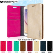 New Blue Moon Flip Wallet Card Slot Money Pocket Stand Case For IPhone 4 4s 5 5s SE 6 6s 7 8 Plus X Series