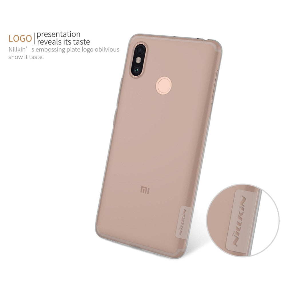 Nillkin For Xiaomi Mi Max 3 Case Nature Transparent Clear Soft Silicon TPU Protector Case Cover Free Shipping For Xiaomi Mi Max3