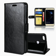 P10lite Case Luxury Wallet Leather Case Business Stand Cover For Huawei P10 Lite 5.2 Inch Magnetic Strap Folio Bag Shell Housing