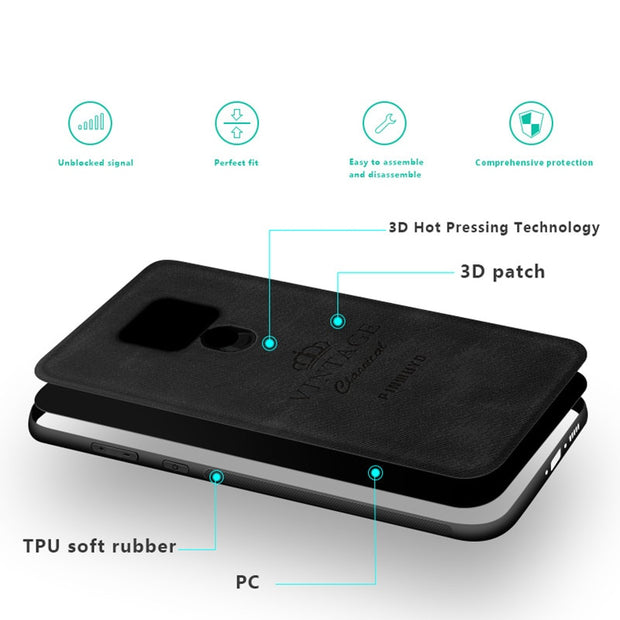 PINWUYO Phone Case For Huawei Mate 20X Cover Mate 20X Back Cover 7 2