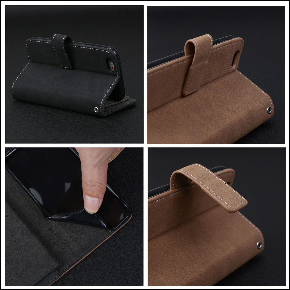 Phone Case For Huawei P10 / P10 Lite / P10 Plus Case Cover Silicon Wallet Flip Leather For Cover Huawei P10 Lite Funda Capa Bags