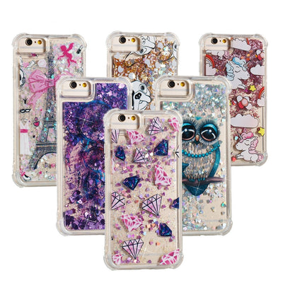 Phone Case On For Motorola G6 Moto XT1925 Glitter Quicksand Soft Silicone Cover For Moto G6 Dual SIM Cases Shine Full Housing