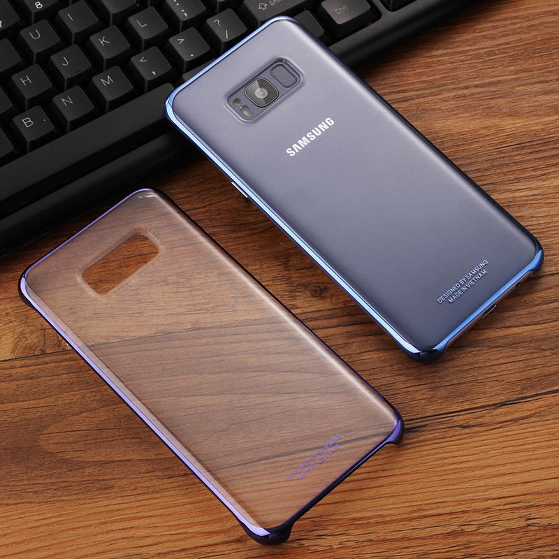 Samsung Original Shockproof Phone Case Soft Shell For Samsung S8 S8 Plus S8+ S8plus SM-G Stealth TPU Mobile Phone Cover 6 Colors