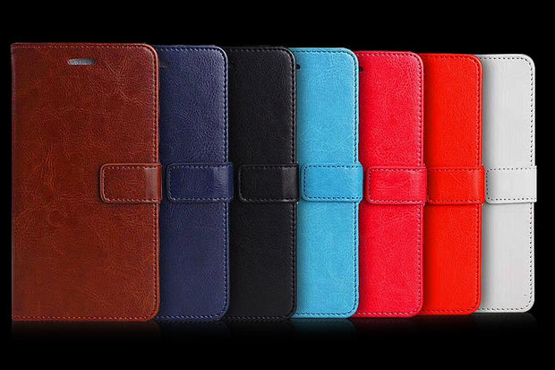 Stand Flip Wallet Leather Cover Case For Samsung Galaxy J2 Prime G532 SM-G532 SM-G532F G532F Grand Prime Plus / Galaxy Note 2