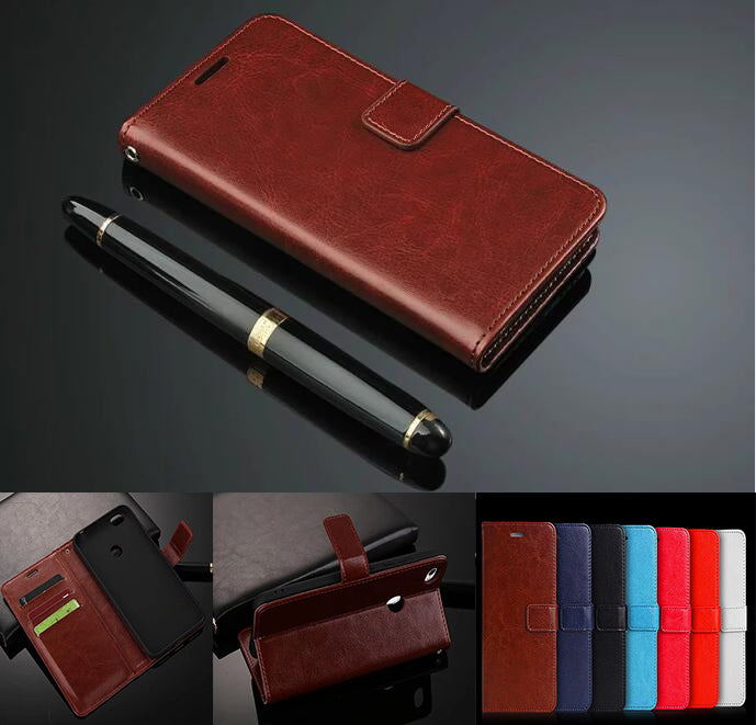 Stand Wallet Flip Leather Case With Silicone Back Case For Xiaomi Mi 5C Mi5C /Xiaomi Redmi 5A /Xiaomi Redmi Note 5A Prime Coque