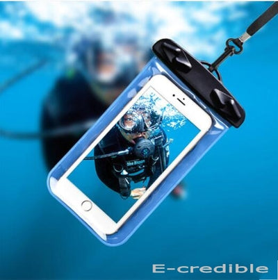 Swimming Waterproof Bag With Band Cover Case For Motorola Moto Z Z Play Moto Z Force Z Style Moto M G4 Play G4 Plus G5 Plus