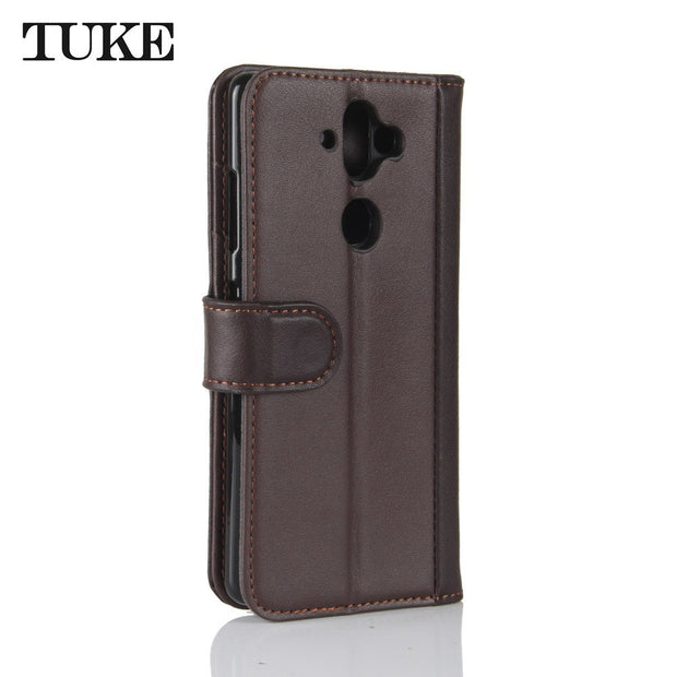 TUKE Phone Case For Nokia X6 Genuine Leather Flip Soft Back Cover Luxury Case For Nokia 8 Sirocco Cover Case For Nokia 9 Coque