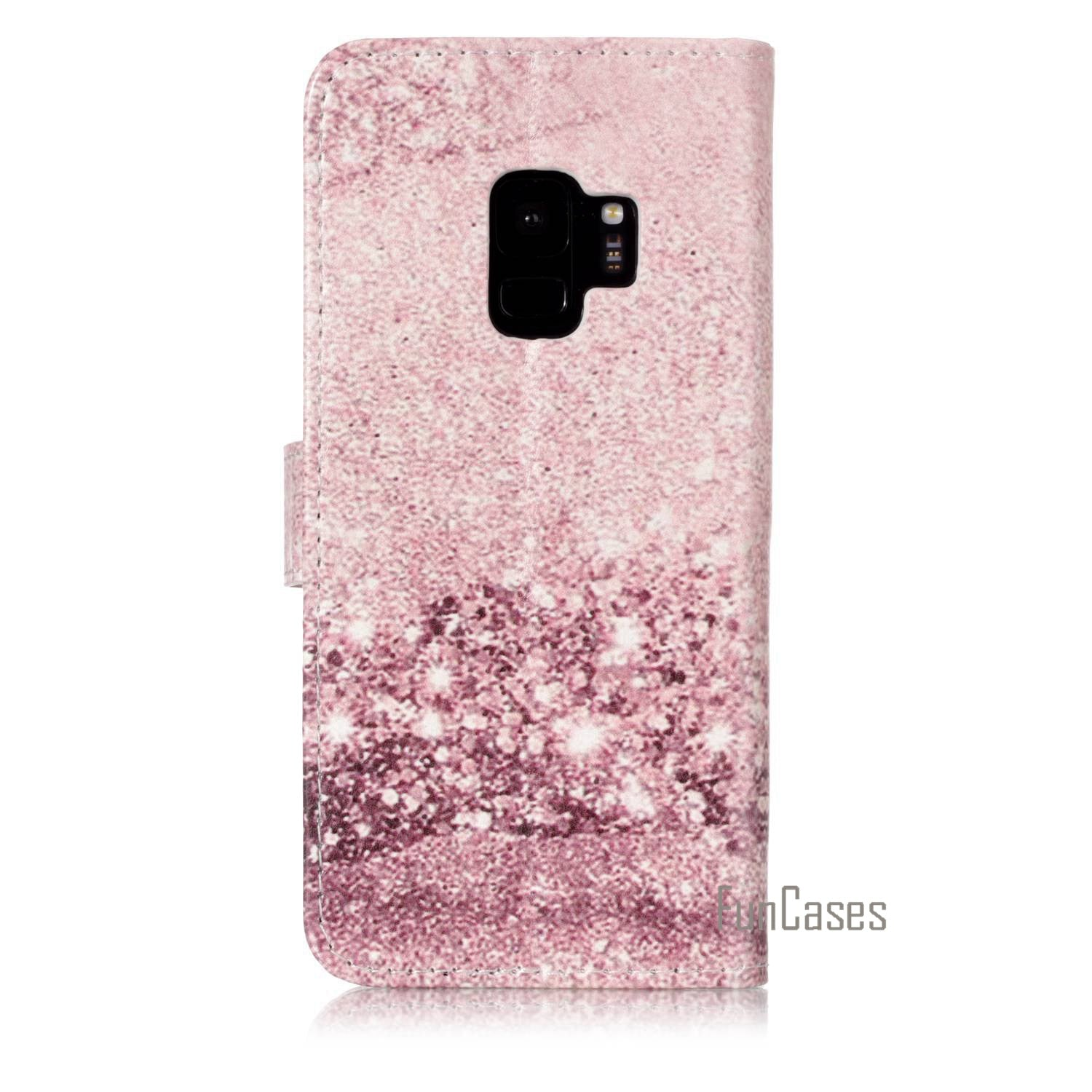 The New PU Phone Case For Fundas Samsung Galaxy S9 Marble Pattern Case For Coque Samsung Galaxy S9 Telephone Case