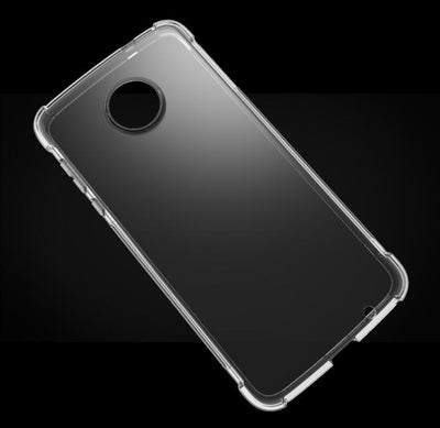 Transparent Crystal Clear Soft For Motorola Moto Z2 Force Case TPU Gel Back Skin Shockproof Cover