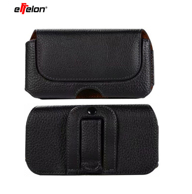Universal Belt Clip Holster For 4.0''~5.5'' Mobile Phone Bag Case Men Waist Bag For IPhone Samsung Sony Hidden Magnetic Buckle