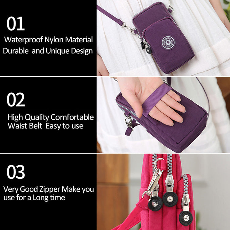 Universal New Sports Wallet Mobile Phone Bag For Samsung/iPhone/Huawei/HTC/LG Pocket Bag Outdoor Arm Shoulder Cover Case