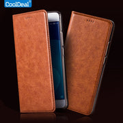 Vintage Leather Case For Motorola Moto C XT1750 XT1754 Luxury Mobile Phone Flip Cover Full Protection Retro Leather Case