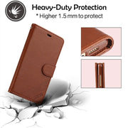 Wallet Card Holder Cover For OPPO A83 Case And Covers Flip Leather Silicon Back Cover For OPPO A 83 Case Luxury Shockproof Black