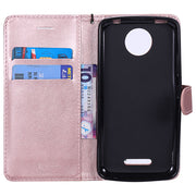 Wallet Case For Motorola Moto C Plus XT1725 XT1723 Flip Phone PU Leather Cover Box For Motorola MotoC Plus XT 1725 1723 Bag Capa
