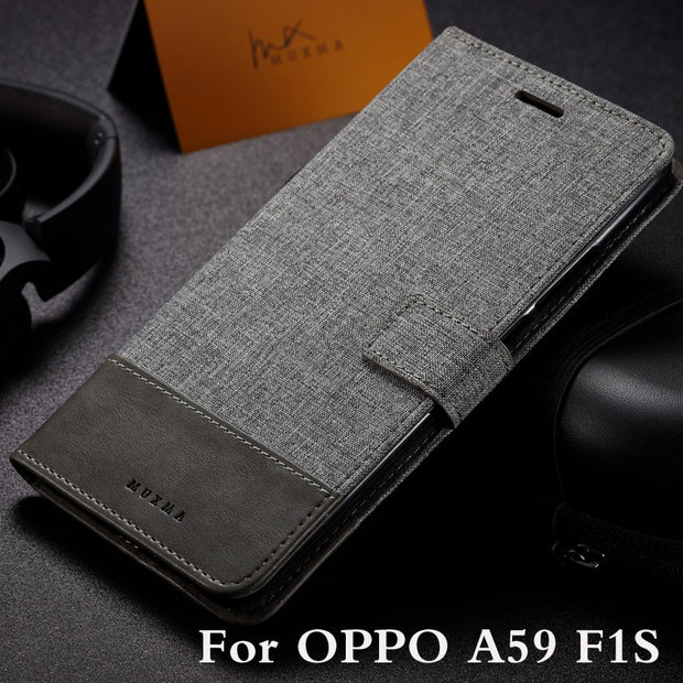 "Wallet Case For OPPO F1S A59 A59M 5.5"" Flip Cover PU Leather Stand Phone Bags Cases For OPPO F1S A59 A59M Cover"