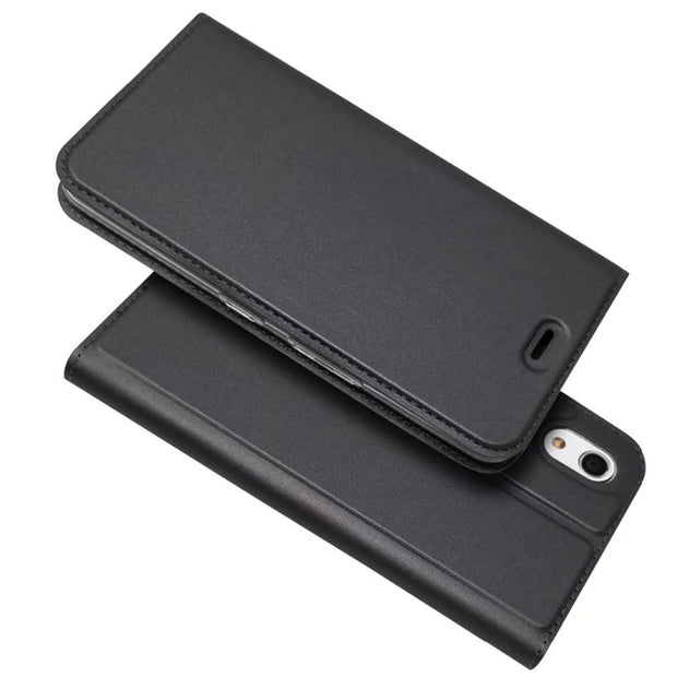 Wallet Leather Case Kyocera Android One S4 & Android One X3 Flip Case Silm Magnetic Book Kickstand Protective Shell Cover