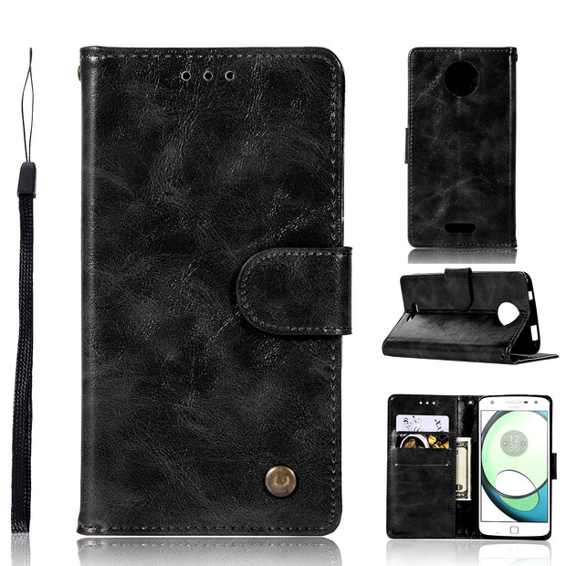 Wallet Phone Holder For Motorola Moto C Case Motorola C Plus TPU Cover Full Protect For Motorola Moto C Plus Cases Capa Coque