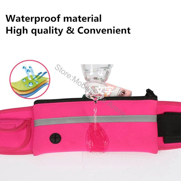 Waterproof Bag For Mobile Phone Blackview S8 S6 A7 Pro A10 Oneplus 5 3 T Flip Belt Phone Case Waist Packs Hiking Bag Case Cover