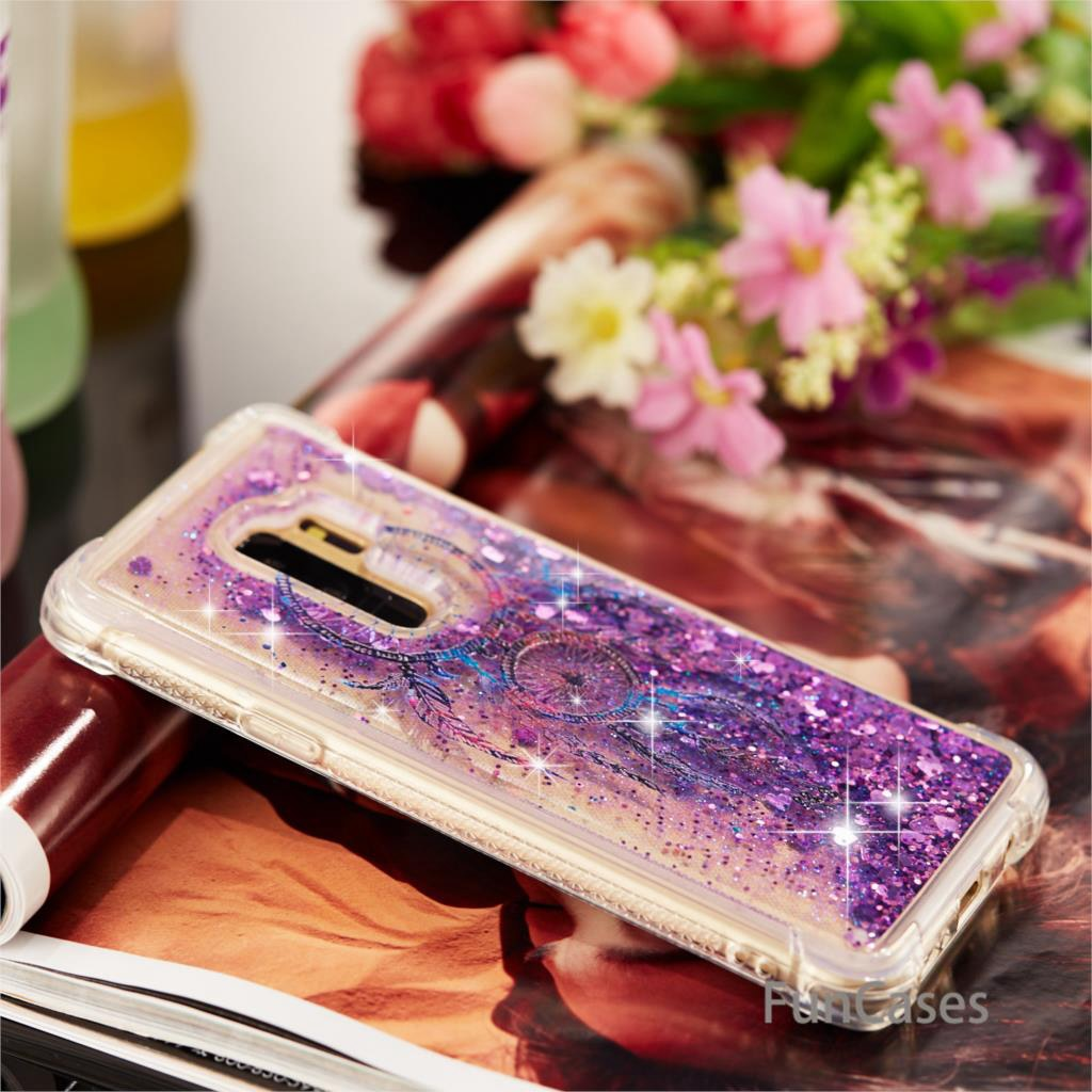 Wind Bell Sparkle Case SFor Celular Samsung S9 Plus Soft TPU Back Cover Cute Exotic Holsters Clips Case Samsung Galaxy S9 Plus