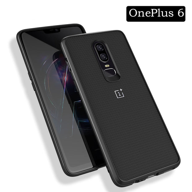 Wood Grain Phone Case For OnePlus 6t 5 Sandstone TPU Leather Bumper Case For One Plus 6 5t Business Phone Cover