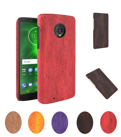 Wooden Pattern Cover For Motorola Moto G6 Case Wood Grain Soft Back Case For Motorola Moto G 6