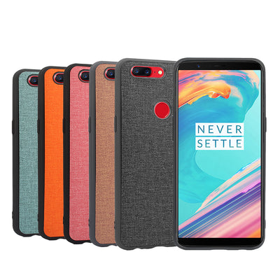 Woven Design Leather Case For OnePlus 5T Case Flip Shell For OnePlus 5T Cover Fashion Luxury Phone Case Bags Funda Coque