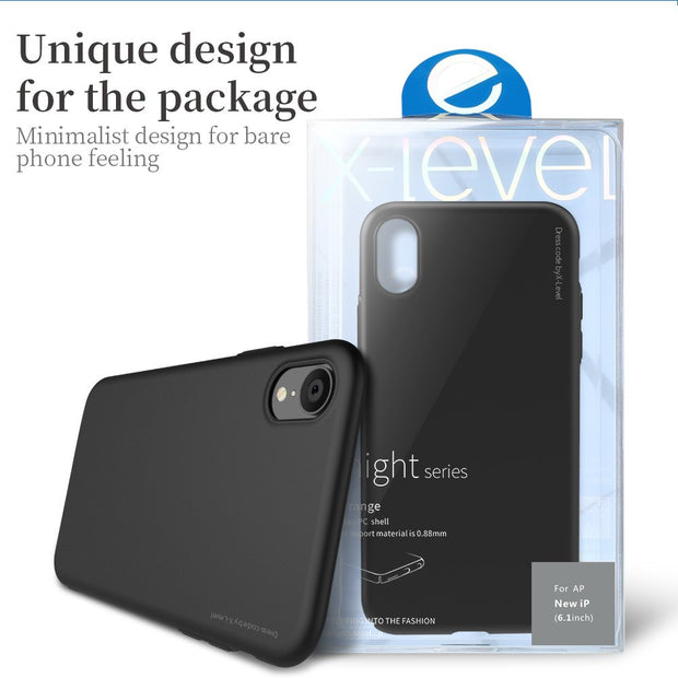 X-Level Cases Cover For Iphone Xs Max Carcasas Hard Protective Skins I Phone XR Casing XsMax Phone Cases