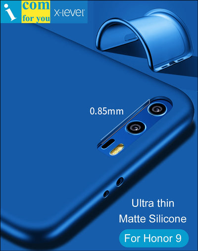 X-Level Ultra Thin Soft Silicone Cover Case For Huawei Honor 9 X Level Guardian Matte Frosted TPU Protective