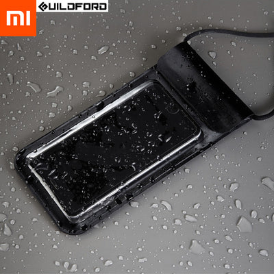Xiaomi Mijia Guildford Swimming Waterproof Phone Case Touch Bag Diving Pouch Cellphone Bag Case For IPhone Xiaomi Oneplus
