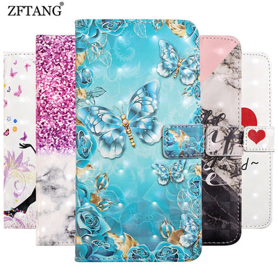 ZFTANG Wallet Cases For Huawei Honor 10 Case Magnetic Flip Luxury PU Leather Phone Case For Huawei Honor 10 Case Back Cover Capa