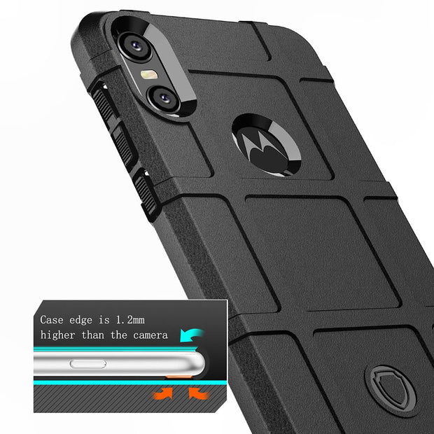ZGAR Cover Case For Motorola Moto One P30 Play Soft Celular Matte Anti Knock Phone Bags Cases For Motorola Moto P30 Play P30Play