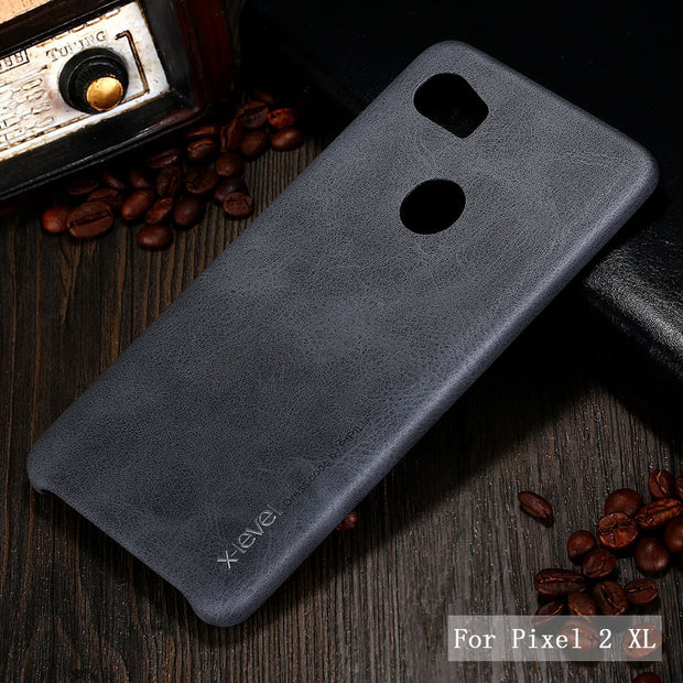 Case For Google Pixel 2 XL X-Level Luxury Retro Leather Case For Google Pixel 2 Back Cover For Google Pixel 2XL Vingate Case