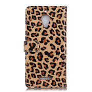 For Wiko Tommy 2 Plus Sexy Leopard PU Leather Flip Stand Cover Wallet Card Money Slot Magnetic Snap Case For Wiko Tommy 2