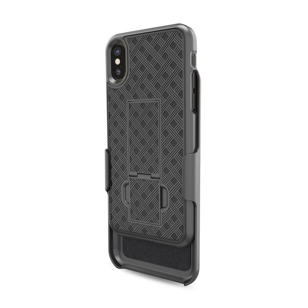 Overmal Fashion Compact Elegant Stylish Heavy Duty Armour PC Case For IPhone X 5.8 Inch Full Body Cover Ight Weight
