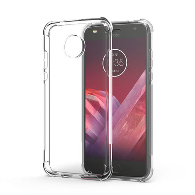 Transparent Shockproof Anti-skid TPU Gel Skin Soft Case Cover For Motorola Moto Z2 Force/Moto Z2 Force Droid