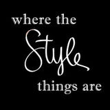 Where the style things are