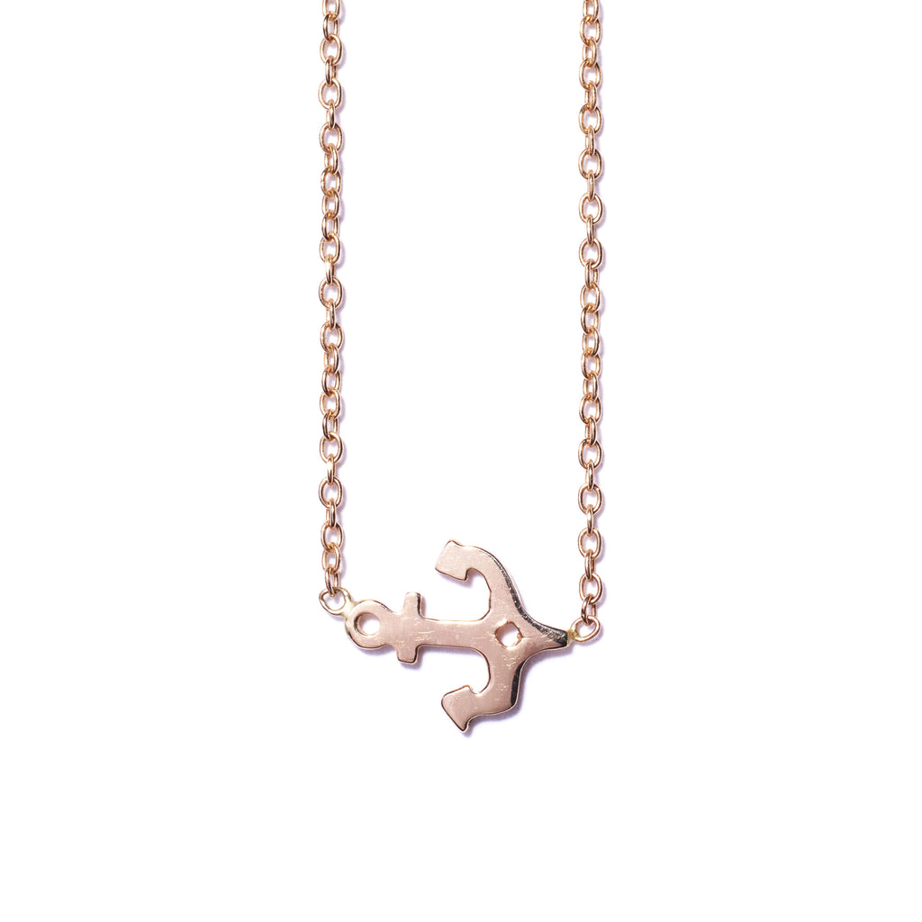 Elizabeth Anchor Necklace
