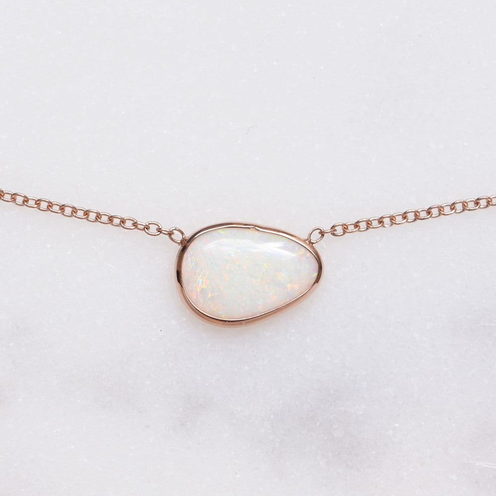 Huevos Opal Necklace