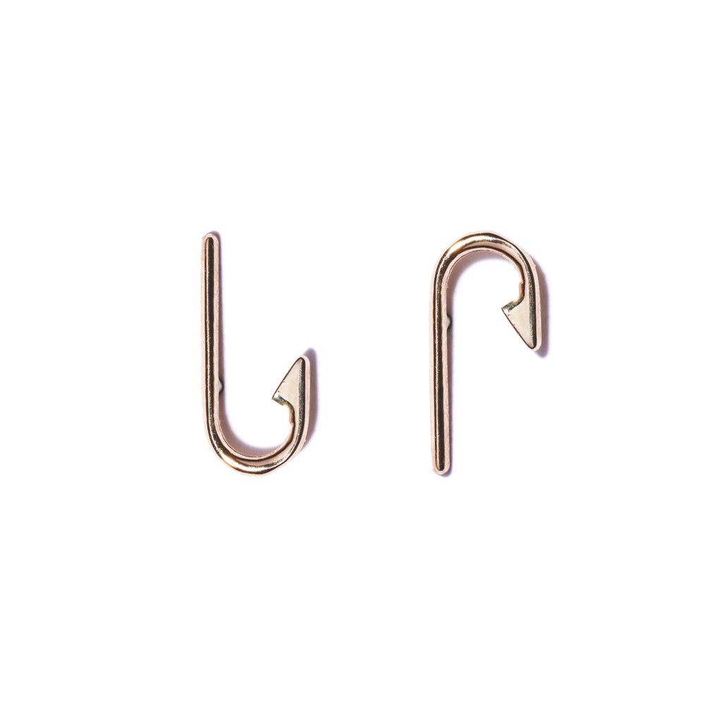 James Ford Fishhook Earrings