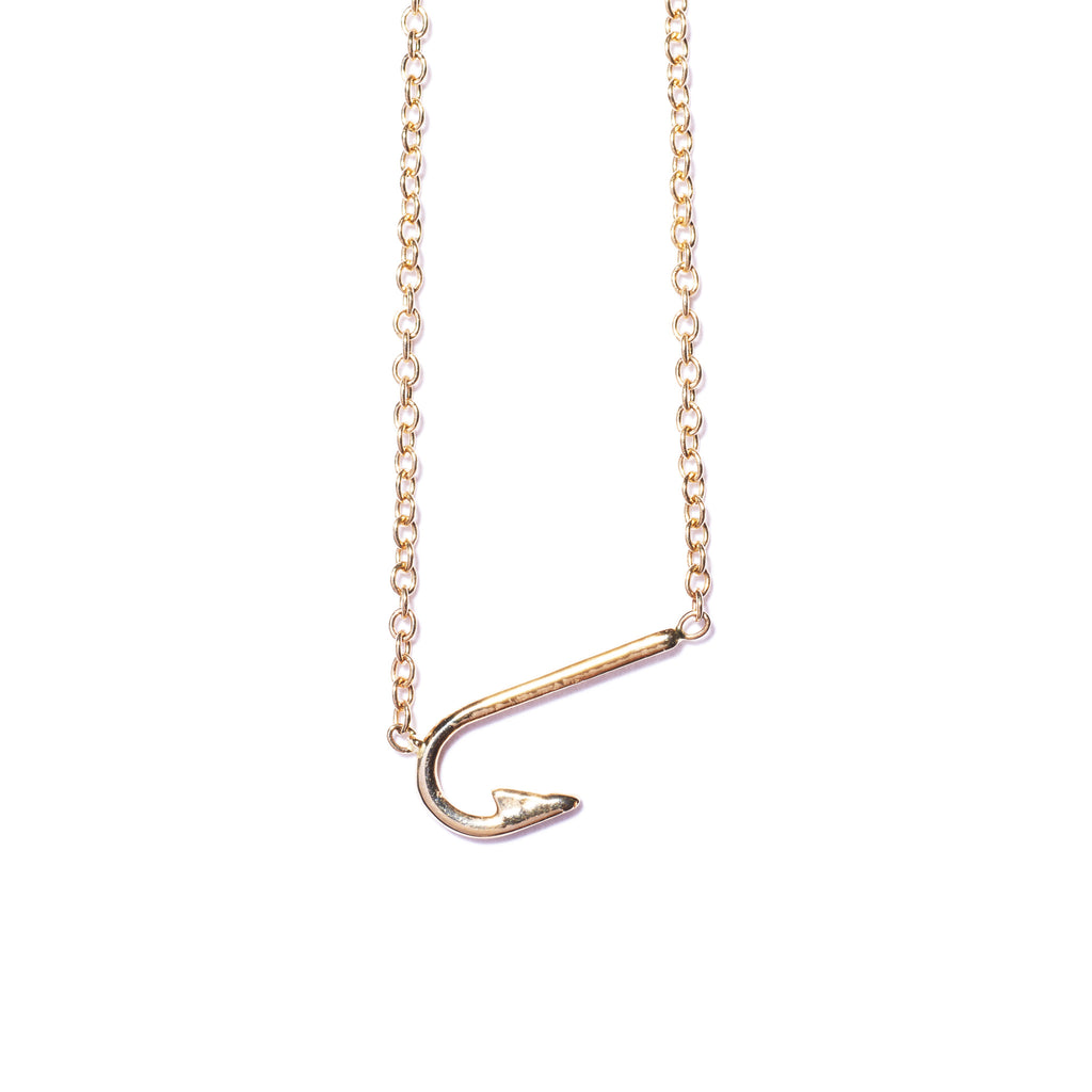 James Ford Fishhook Necklace