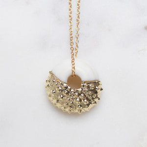 The Better Half Puka & Sea Urchin Necklace