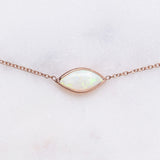 Marquis Opal Necklace