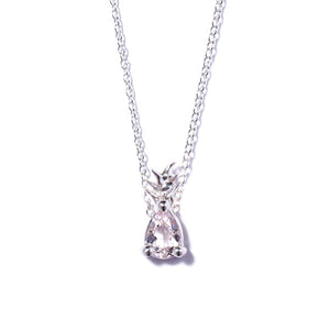 Pineapple Necklace - Morganite