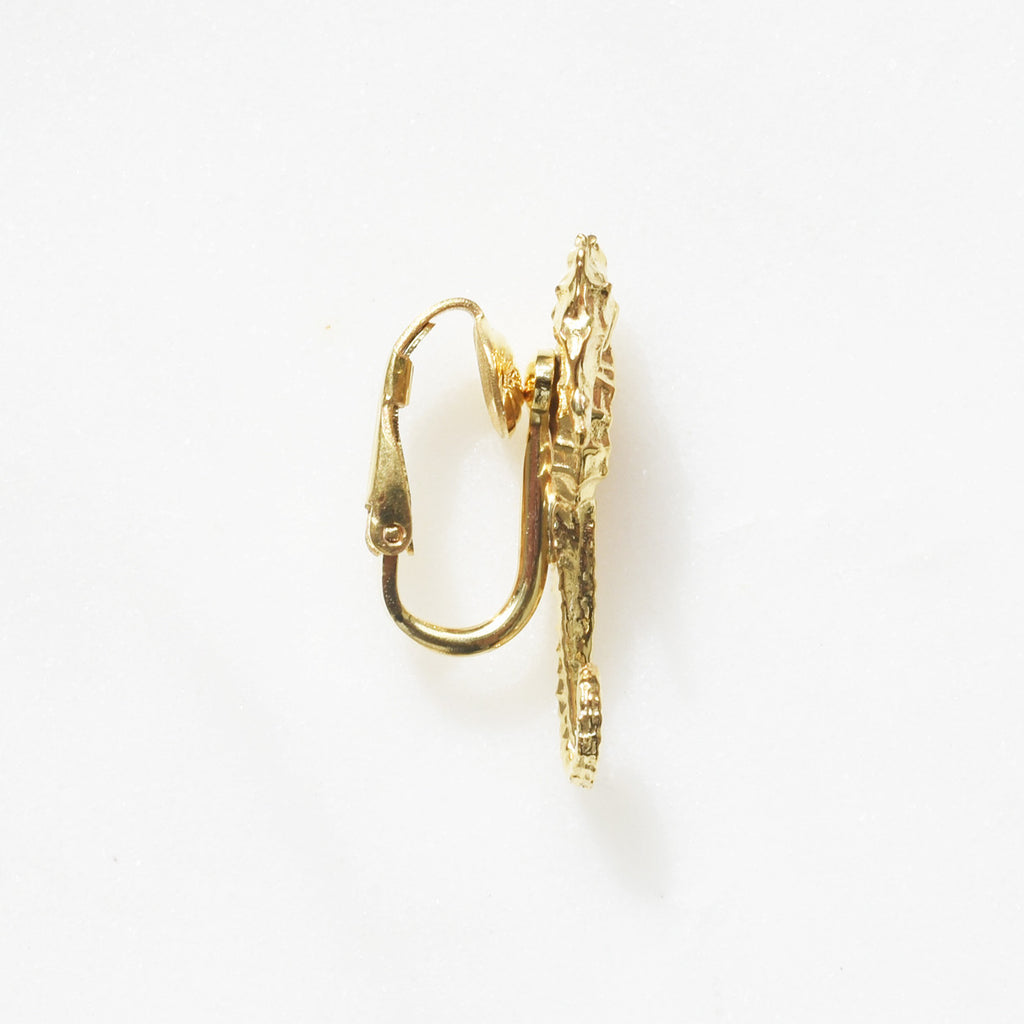 Seahorse Clip On Earring