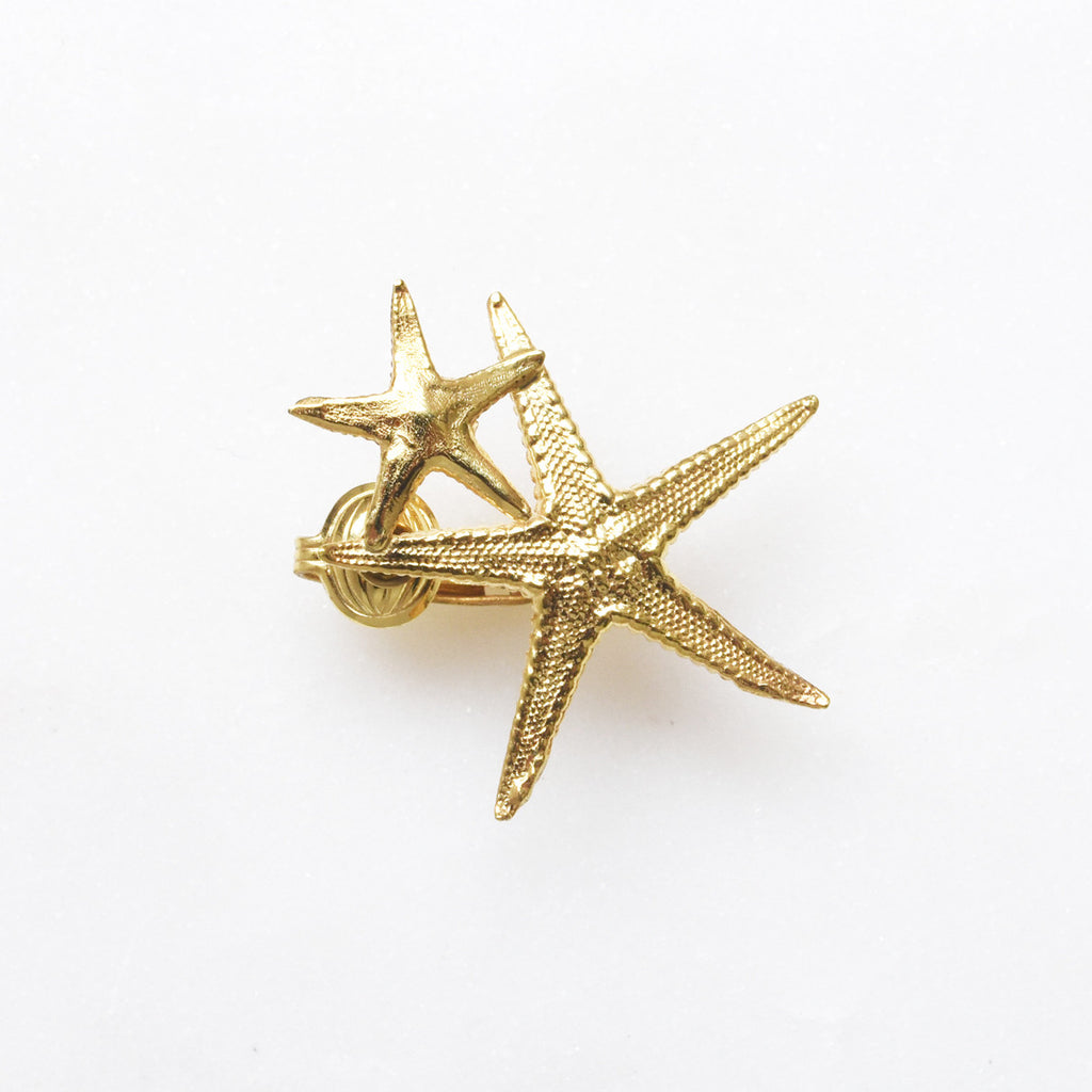 Starfish Clip On Earring