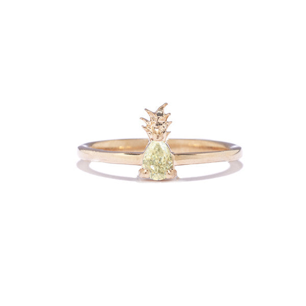 Diamond Pineapple Ring
